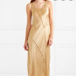 Vince Paneled Silk Dress - Size S